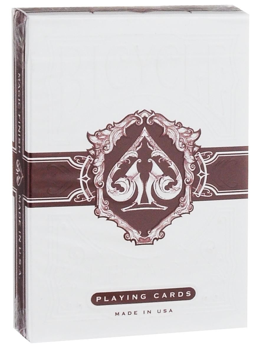 Карты игральные Bicycle Наследие: Gamblers Warehouse, цвет: белый, красныйК-436Карты Bicycle Наследие: Gamblers Warehouse выполнены из высококачественного картона. В этих картах сохранен классический стиль, но также добавлены новые элементы дизайна. Карты имеют покерный размер. Карты под брендом Bicycle всегда отличаются уникальным и неповторимым дизайном. Подходят для покера, карточных игр и фокусов.