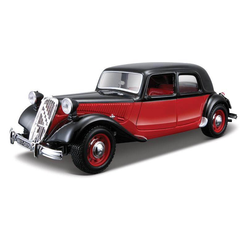Bburago Модель автомобиля Citroen 15 CV TA 1938 цвет красный18-22017