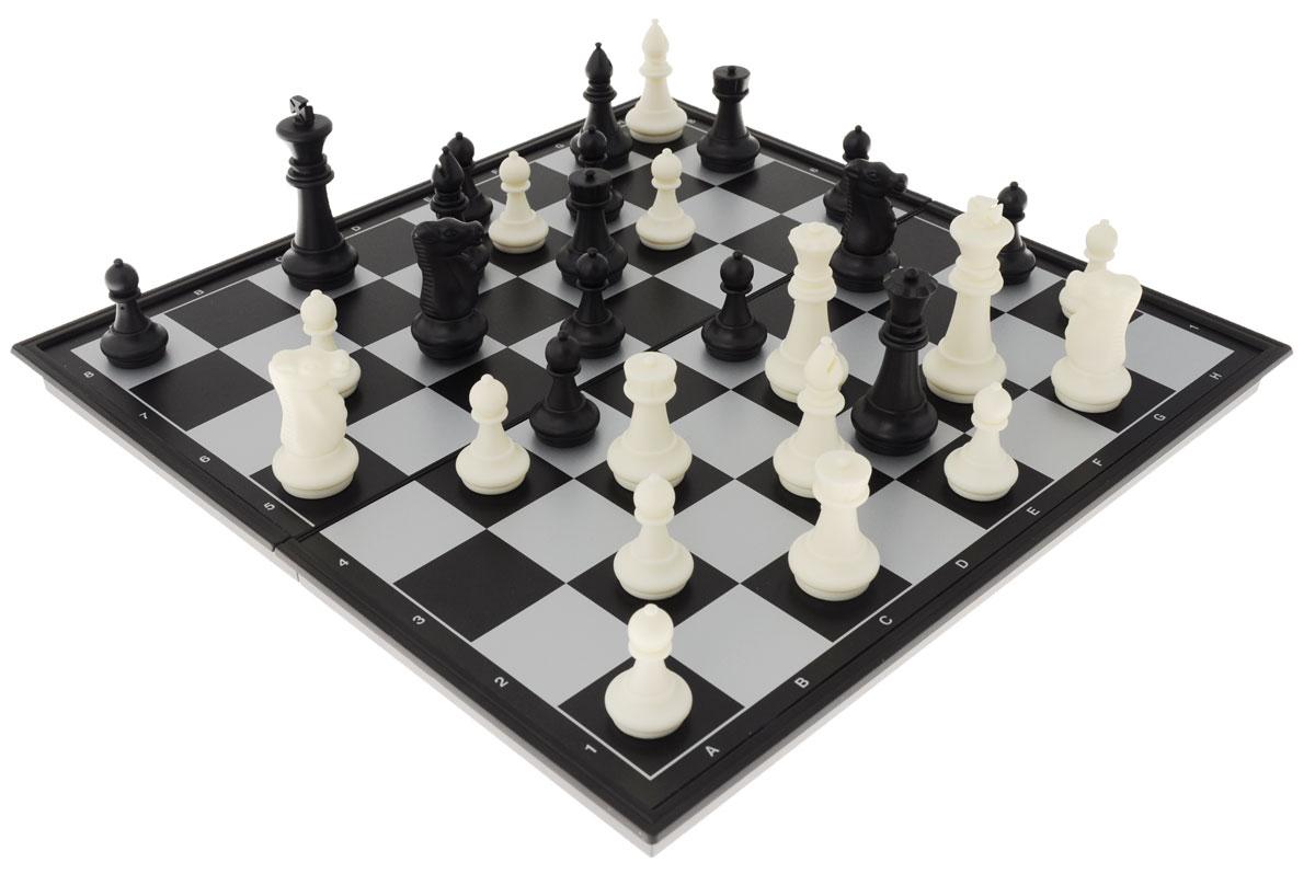 Игровой набор UBON 2в1 Шахматы и шашки, размер: 36х18х4см. 4912-B4912-BИгровой набор Компания Игра Шахматы и шашки 2 в 1 включает магнитные шахматы и шашки. В комплекте имеется магнитная доска, 32 шахматные фигуры, 24 шашки. Каждая фигура надежно крепится к доске в определенном положении благодаря магниту. Шахматы и шашки - это увлекательные игры, которые помогут развить логическое мышление и позволят вам интересно и с пользой провести время. Кроме того, такой набор можно взять с собой в дорогу.