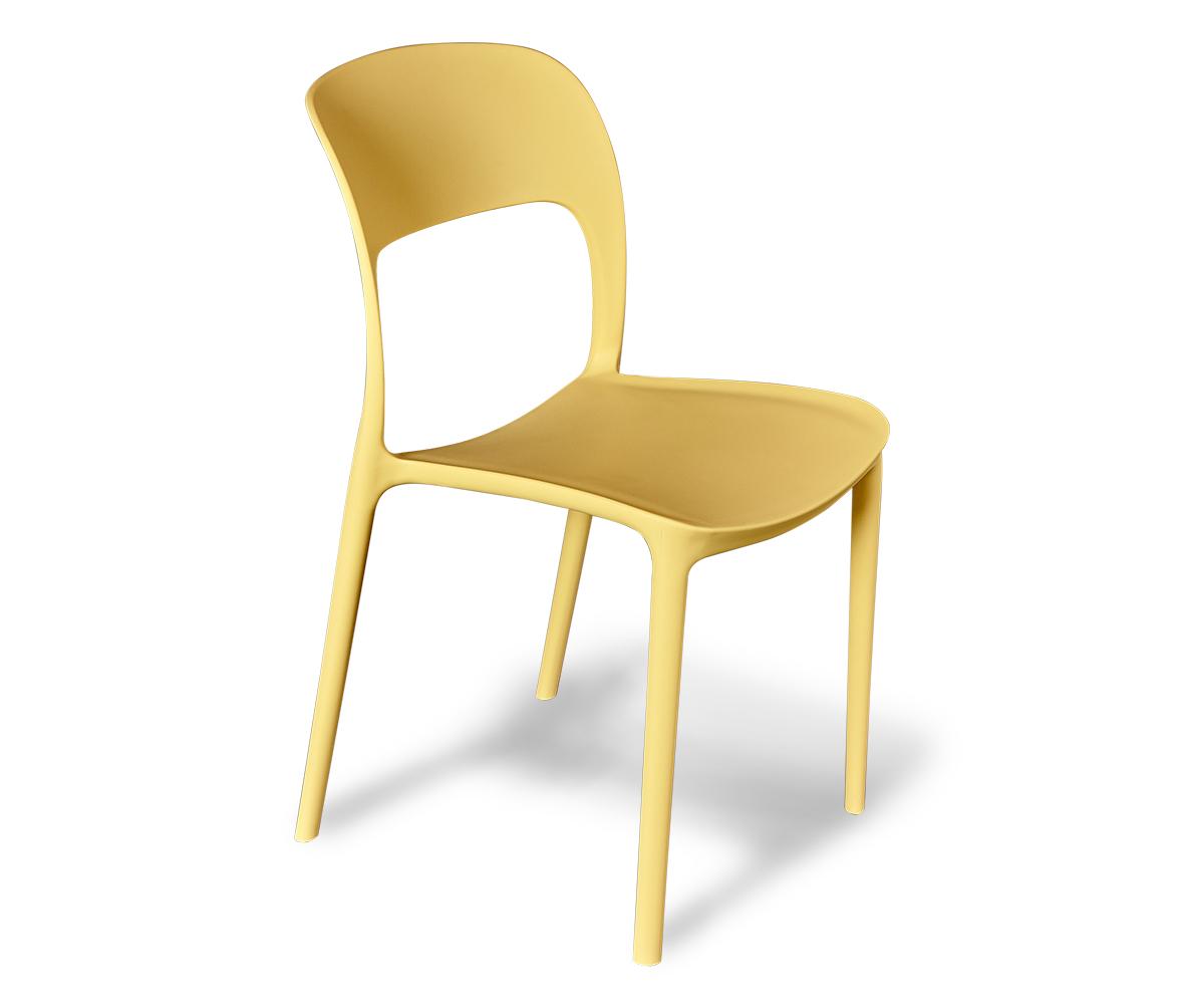 Стул Sheffilton SHT-S18бежевыйSHT-S18Современный, эргономичный пластиковый стул выполненный из полипропилена; - Отлично подходит для дома, сада, лоджии, а также для кафе, баров и ресторанов; - Устойчив к деформациям, механическому воздействию и легок в уходе; - Можно штабелировать, что позволяет экономить место при хранении. - Практически не утрачивает внешнего вида в процессе эксплуатации; - Размер упаковки: 710х505х595х950мм; - Толщина сиденья: 8мм; - Размер сиденья: 430х410х425мм; - Высота спинки: 425мм; - Максимальная нагрузка - 150кг