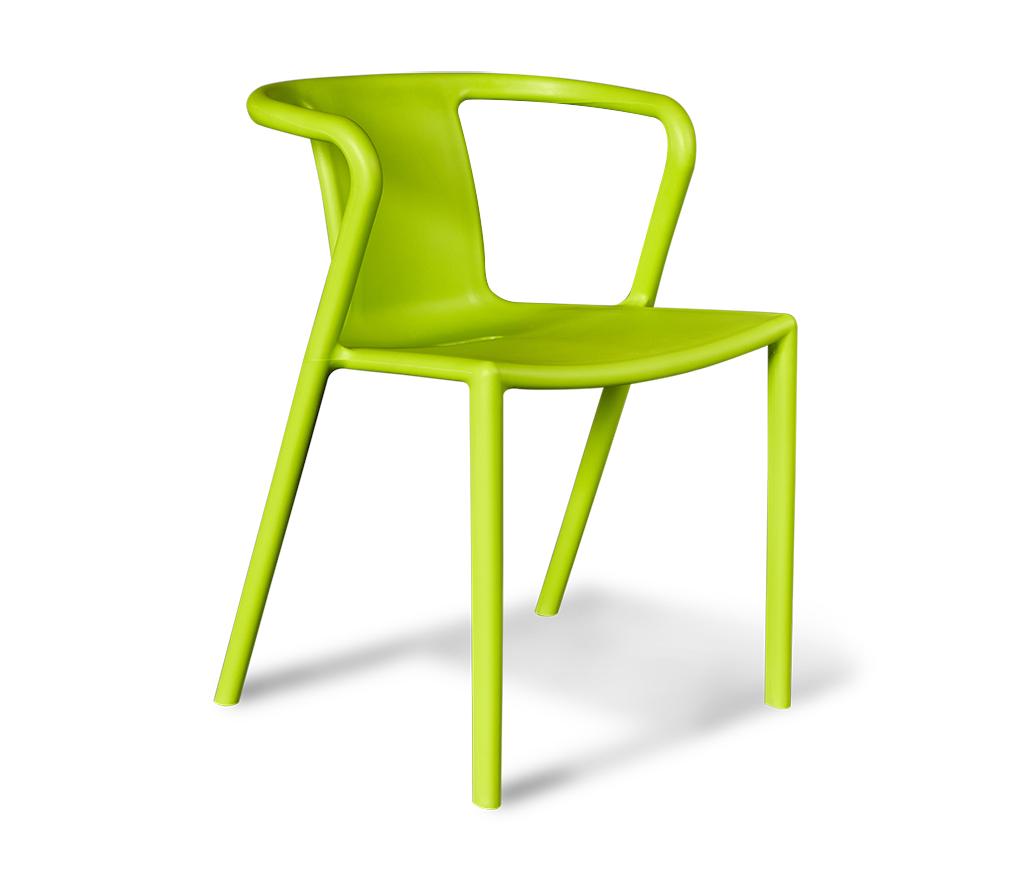 Стул Sheffilton SHT-S20зеленыйSHT-S20Современный, удобный пластиковый стул выполненный из полипропилена; - Отлично подходит для дома, лоджии сада, а также для кафе, баров и ресторанов; - Устойчив к деформациям, механическому воздействию и легок в уходе; - Можно штабелировать, что позволяет экономить место при хранении; - Практически не утрачивает внешнего вида в процессе эксплуатации; - Толщина сиденья: 7мм; - Размер сиденья: 400х450х320мм; - Высота спинки: 320мм; - Максимальная нагрузка - 150кг;