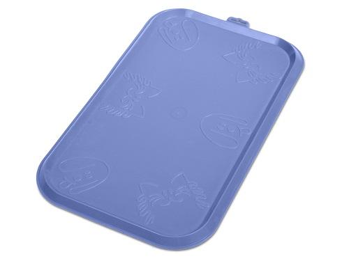 Коврик для еды, голубой, 52*30 см1062