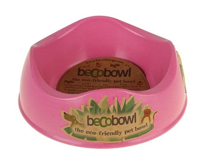 Миска Beco, розовая, 500 мл4004Продукция BecoThings является альтернативой пластиковым, керамическим и резиновым изделиям. Товары BecoThings произведены на основе волокон рисовой шелухи, бамбука и натуральных смол. Основными преимуществами продукции BecoThings является не токсичность, прочность и долговечность.