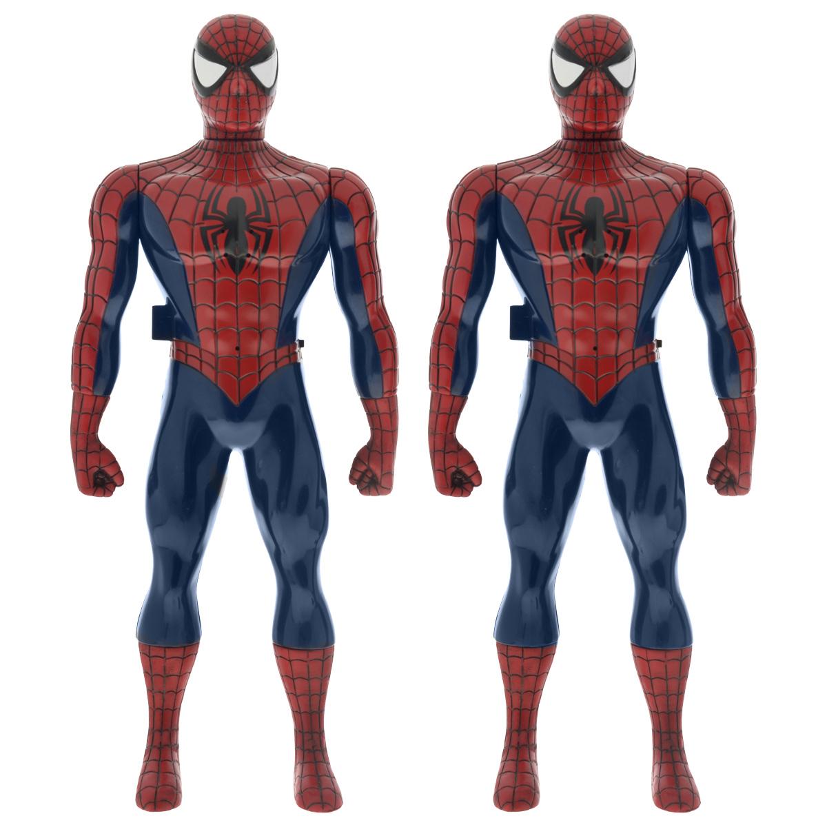 Рация IMC Toys Spider-Man550131Рация IMC Toys Spider-Man - это не только оригинальная фигурка, но и настоящее устройство связи! В набор входят 2 рации. Рация выполнена из прочного пластика в виде фигурки знаменитого супергероя Человека-Паука. Руки и голова фигурки подвижны. Рация имеет встроенную антенну, динамик и микрофон, и активируется нажатием на кнопку на боку фигурки. Не так-то просто выполнить сложную миссию по спасению мира, если подводит связь. Так что юным героям стоит всегда иметь под рукой такую рацию! Она поможет всегда быть в курсе ситуации. Необходимо докупить 2 батарейки напряжением 9V типа 6LR61 (не входят в комплект).