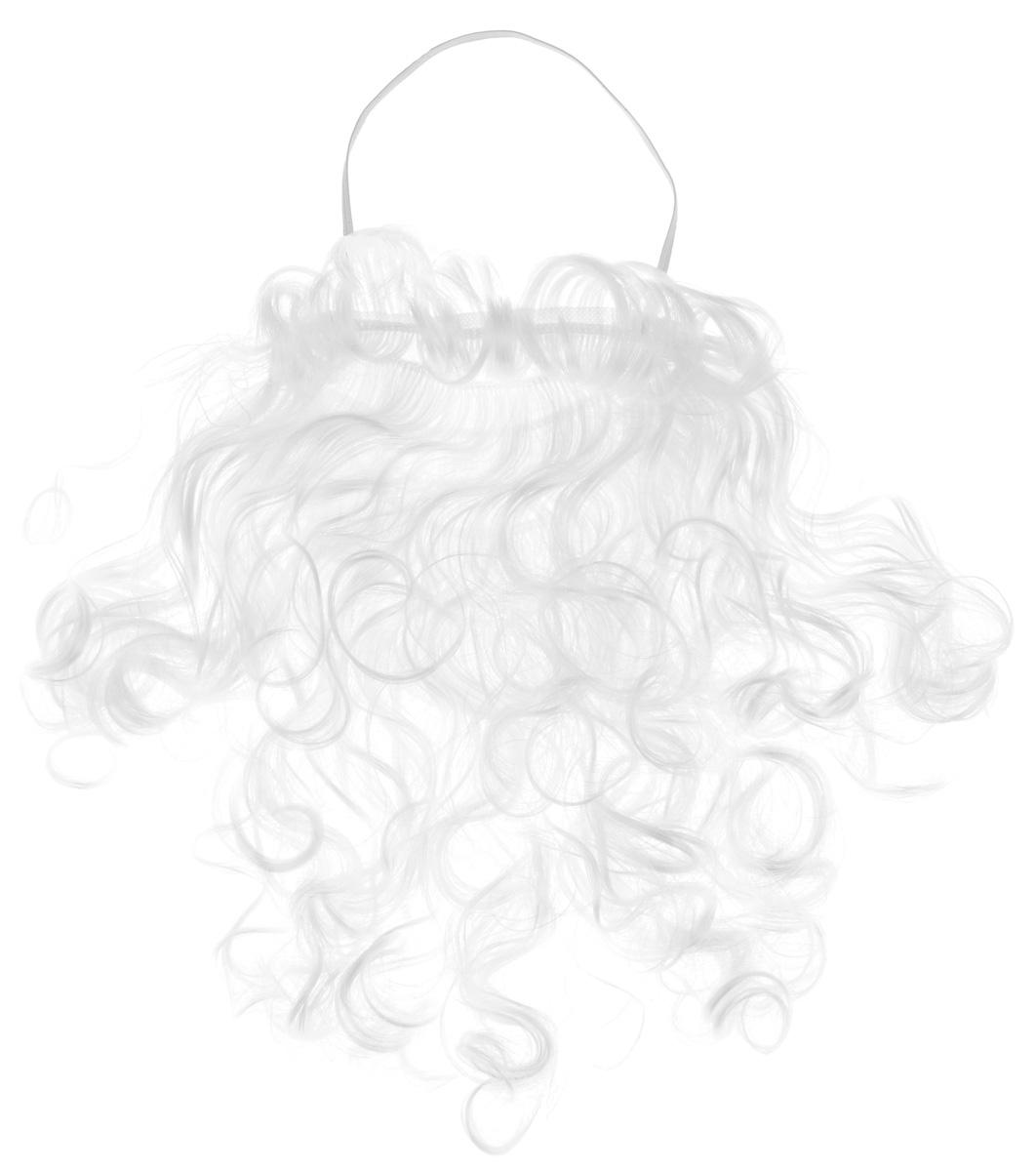 Карнавальная борода Sima-land Дед Мороз, длина 26 см1115981Карнавальная борода Sima-land Дед Мороз выполнена из искусственного волоса белого цвета. Надев такую бороду, вы будете выглядеть просто великолепно, как настоящий Дед Мороз. Веселое настроение и масса положительных эмоций вам будут обеспечены! Ширина бороды: 30 см.