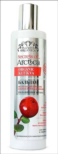 Planeta Organica Secrets of Arctica Бальзам для волос Увлажнение и уход освежающий, 280 мл