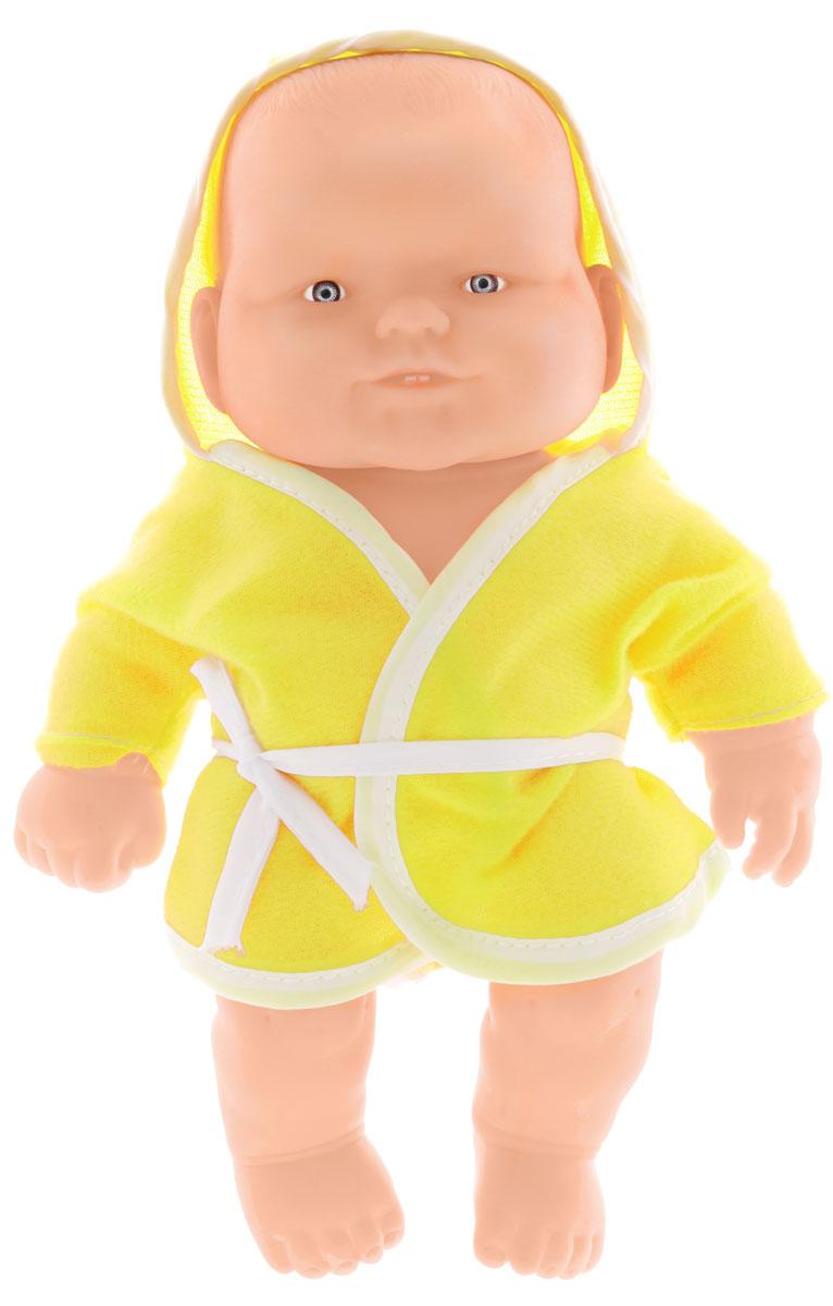 Joy Toy Пупс Дружная Семейка желтый белый