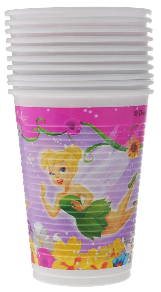 Procos Стакан Феи Весна 10 шт1502-0998Стаканы Феи Весна изготовлены из качественного пластика и оформлены изображениями фей Диснея. Изделие станет великолепным дополнение к детскому торжеству. Такая посуда является экологически чистой, не наносит вреда здоровью. В комплекте 10 стаканов.