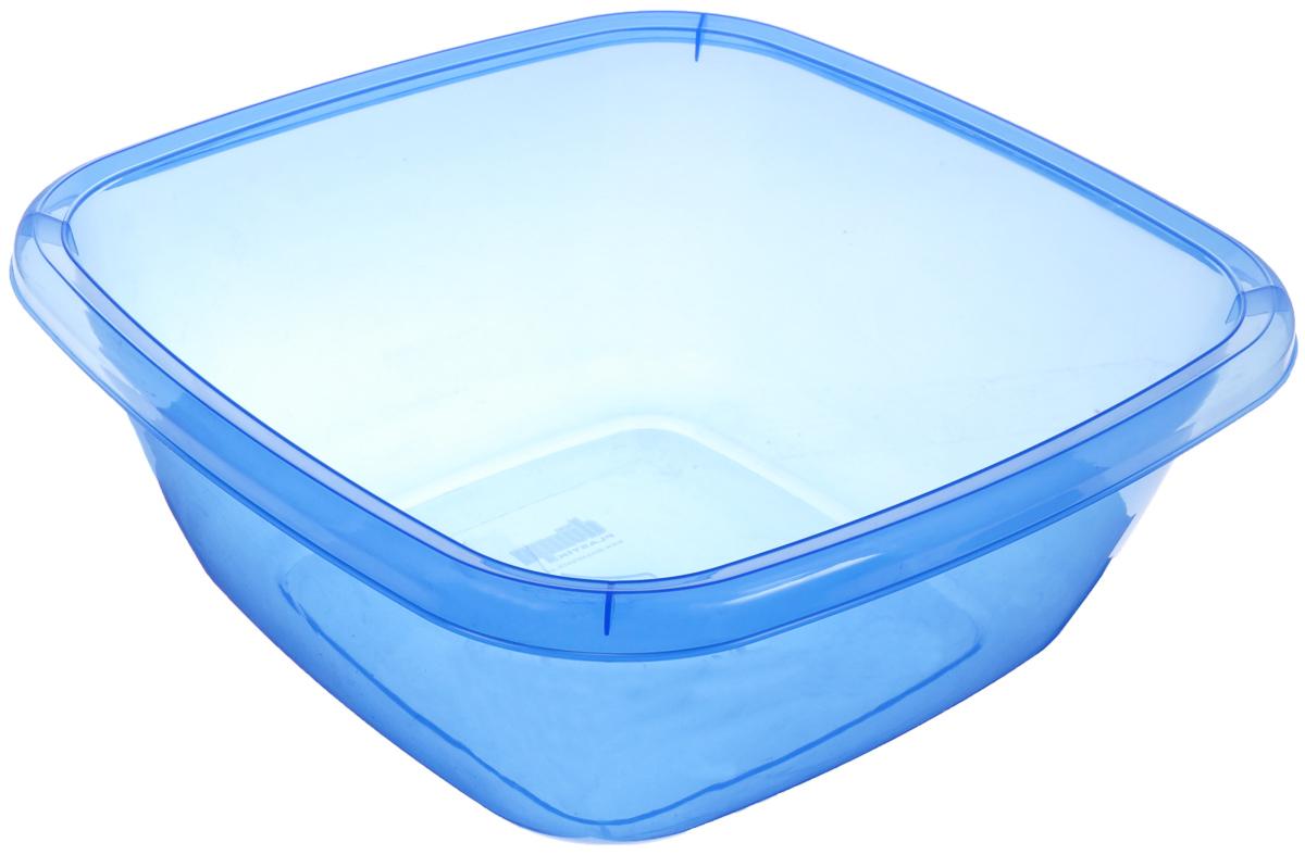 Таз квадратный Dunya Plastik, цвет: синий, 9,5 л10128_синийКвадратный таз Dunya Plastik выполнен из прочного прозрачного пластика. Подойдет для различных бытовых нужд на кухне, в ванной, гараже и так далее. Такой таз пригодится в любом хозяйстве.