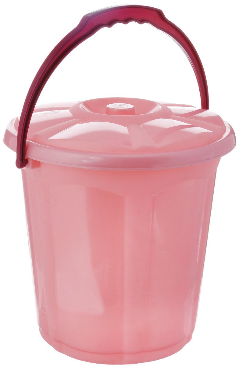 Ведро Dunya Plastik Стиль, с крышкой, цвет: розовый, 10 л9103_розовыйВедро Dunya Plastik Стиль изготовлено из прочного пластика. Ведро оснащено плотно закрывающейся крышкой и удобной ручкой. Такое ведро прекрасно подойдет для различных хозяйственных нужд: для уборки или хранения мусора. Объем: 10 л. Диаметр ведра (по верхнему краю): 27 см. Высота (без учета крышки): 27,5 см.