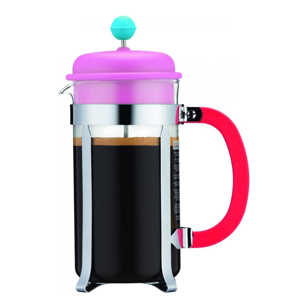 Кофейник с прессом Caffettiera 1.0л TM BODUM, арт.A1918-XYB-70piA1918-XYB-70pi