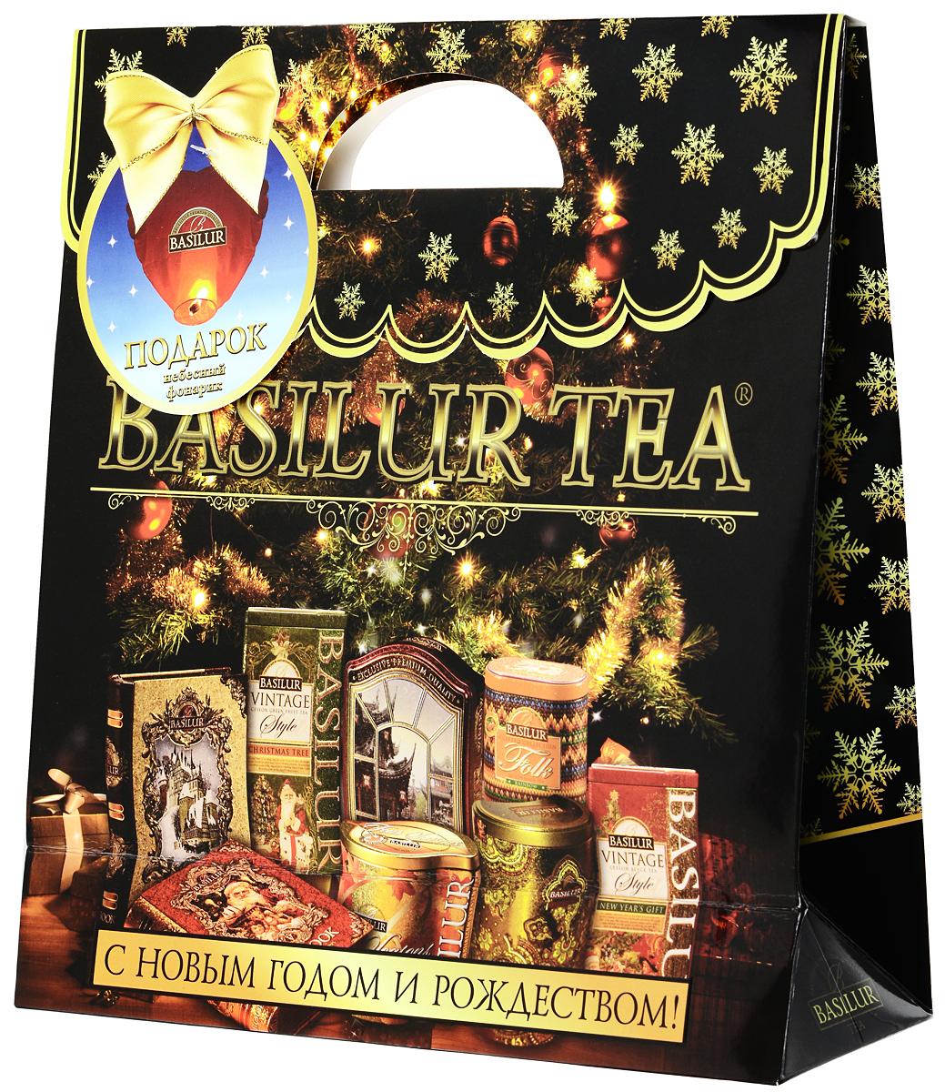 Новогодний чай basilur