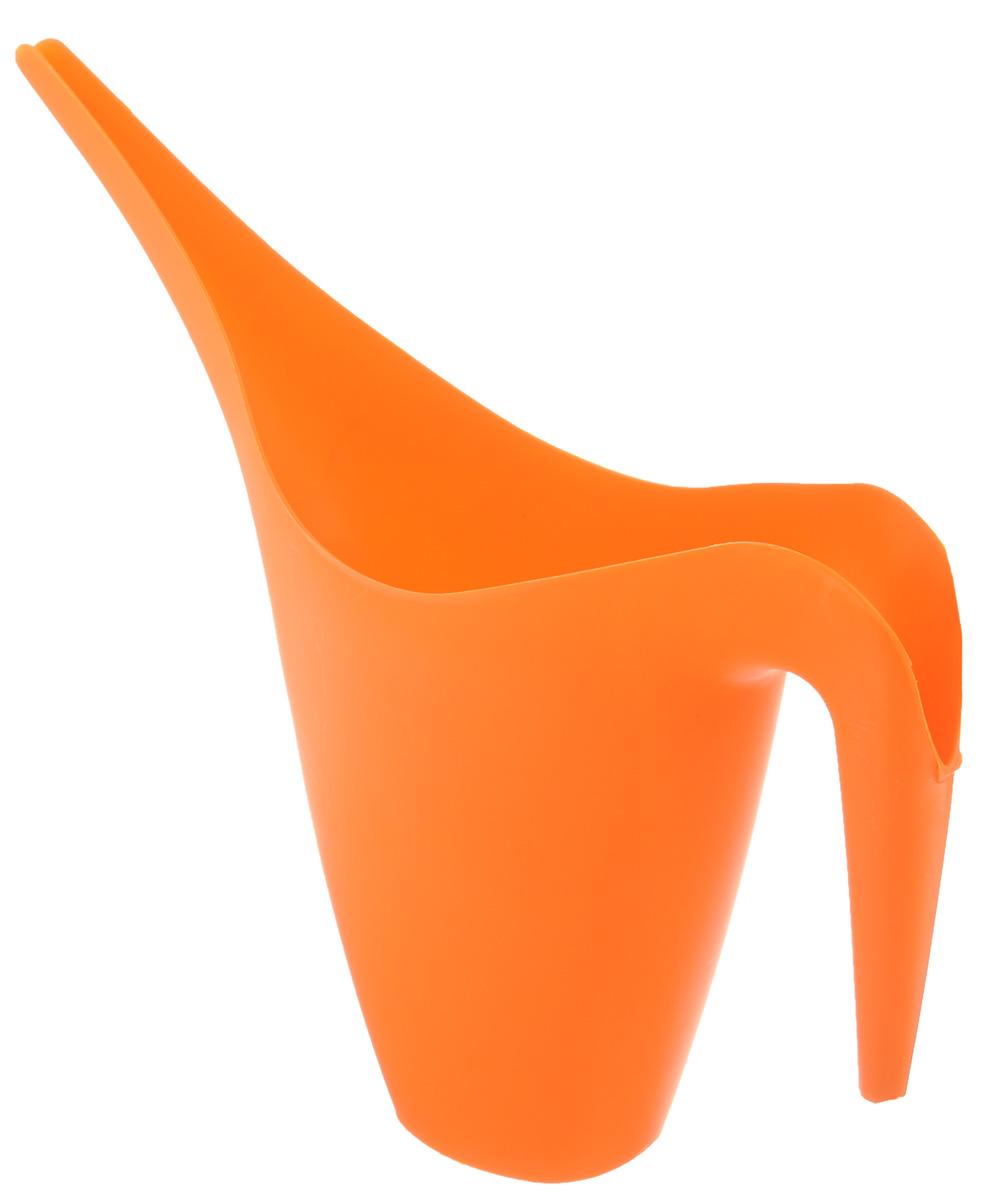 Лейка для полива комнатных цветов Tek-a-Tek, цвет: оранжевый, 1,6 лL-01Садовая лейка Альтернатива Tek-a-Tek предназначена для полива комнатных цветов. Она выполнена из пластика и имеет небольшую массу, что позволяет экономить силы при поливе. Удобство в использовании также обеспечивается за счет эргономичной ручки лейки. Лейка Альтернатива Tek-a-Tek станет незаменимой в вашем доме.