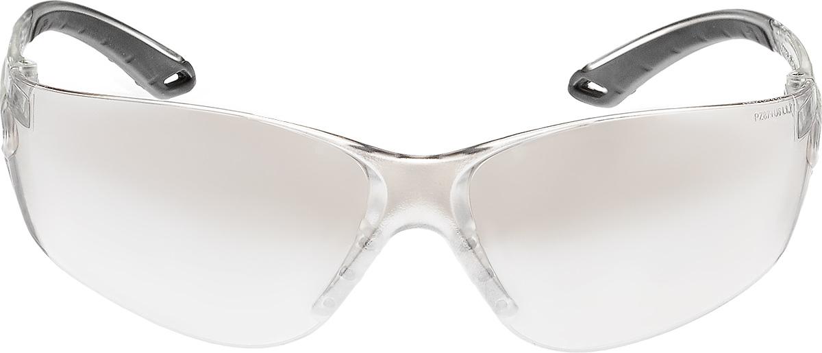 Очки стрелковые Stalker, защитные, цвет: зеркально-серыйST-75GЗащитные стрелковые очки Stalker с ударопрочными поликарбонатными линзами светопрпускаемостью 75%. Обеспечивают защиту глаз спереди и сбоку от частиц, летящих со скоростью 400 м/с. Обрезиненные дужки. На линзы нанесена защита от царапин. Данные защитные очки были произведены в соответствии со стандартами ANSI Z87.1 и CE EN166. Их линзы изготовлены из ударопрочного поликарбоната с использованием покрытия, защищающего от царапин, но очки не являются небьющимися и обеспечивают ограниченную защиту. Характеристики очков: - УФ-защита - Светопропускаемость 75% - Класс оптики 1 - Обрезиненные дужки - Ударопрочные - Защита от царапин.