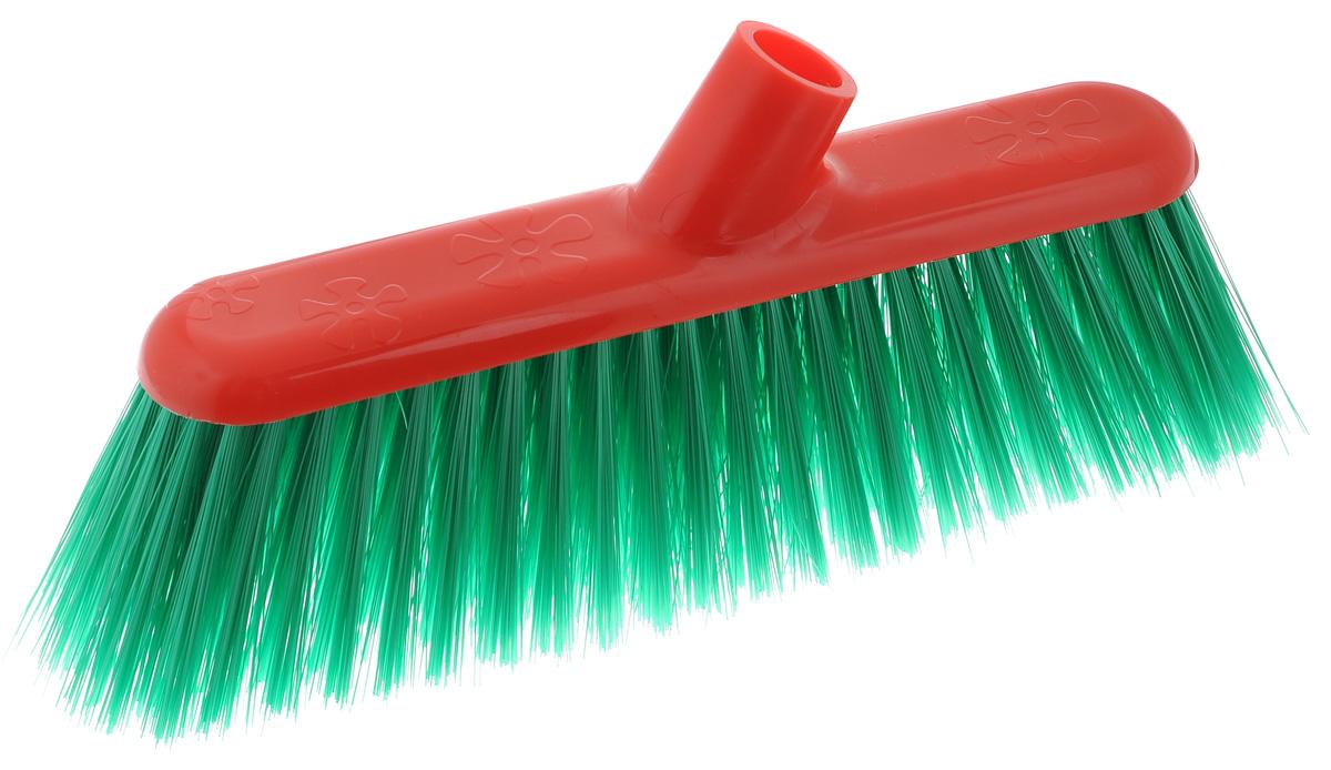 Щетка для пола Альтернатива, наклонная, цвет: зеленый, красныйМ1832_зеленыйЩетка Альтернатива выполнена из прочного пластика, снабжена жесткой щетиной из полимера. Щетка предназначена для уборки сухого мусора, специальное наклонное крепление позволяет собрать мусор из труднодоступных мест. Черенок в комплекте не поставляется. Длина ворса: 8 см. Размер рабочей поверхности: 30 см х 8 см.