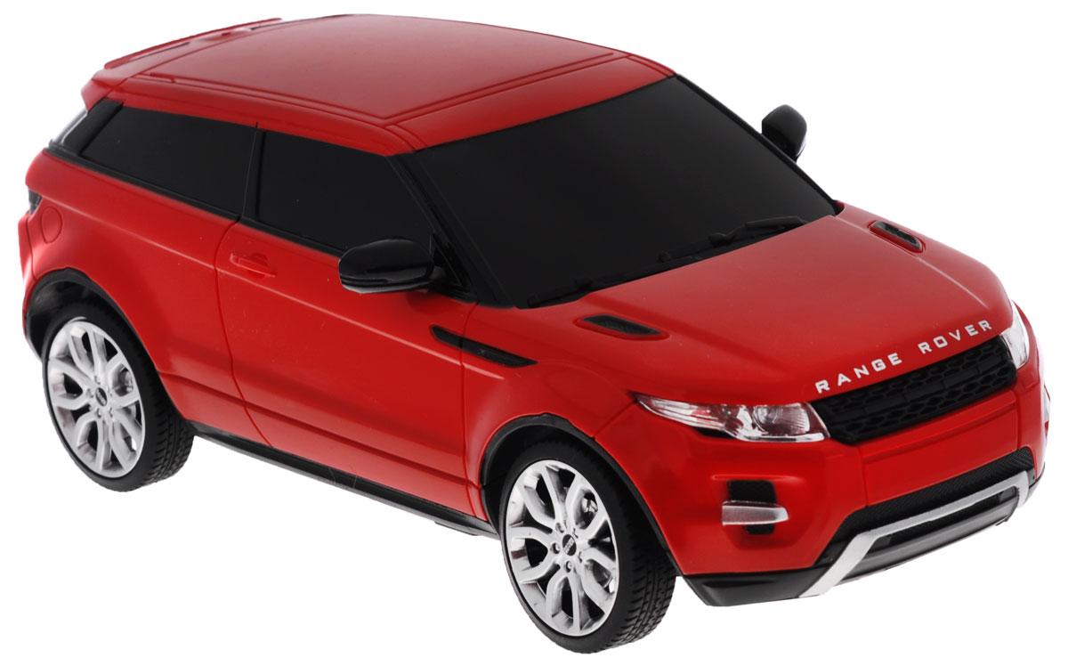 Rastar Радиоуправляемая модель Range Rover Evoque цвет красный масштаб 1:2446900_красныйРадиоуправляемая модель Rastar Range Rover Evoque станет отличным подарком любому мальчику! Все дети хотят иметь в наборе своих игрушек ослепительные, невероятные и крутые автомобили на радиоуправлении. Тем более, если это автомобиль известной марки с проработкой всех деталей, удивляющий приятным качеством и видом. Одной из таких моделей является автомобиль на радиоуправлении Rastar Range Rover Evoque. Это точная копия настоящего авто в масштабе 1:24. Возможные движения: вперед, назад, вправо, влево, остановка. Имеются световые эффекты. Пульт управления работает на частоте 27 MHz. Для работы игрушки необходимы 3 батарейки типа АА (не входят в комплект). Для работы пульта управления необходимы 2 батарейки типа АА (не входят в комплект).