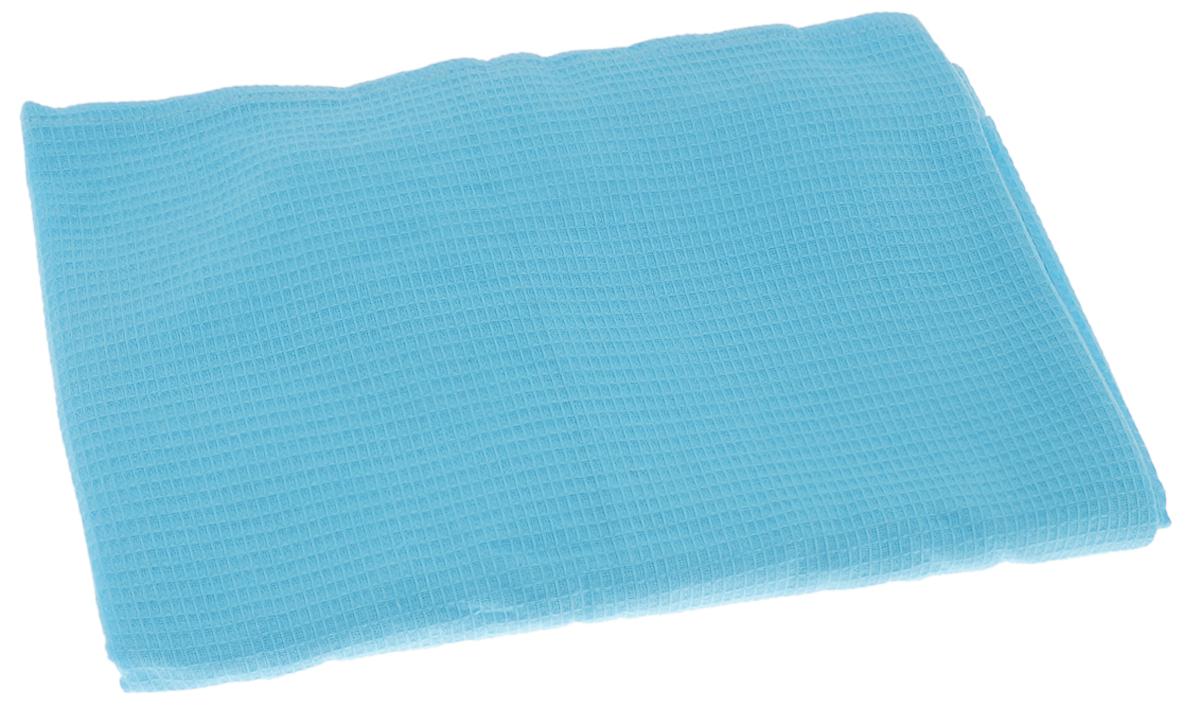 Накидка для бани и сауны Банные штучки, женская, цвет: голубой32058_голубойВафельная накидка Банные штучки, изготовленная из 100% натурального хлопка, станет незаменимым аксессуаром в бане или сауне. Изделие снабжено резинкой и застежкой-липучкой. Имеет универсальный размер. Такая накидка - очень функциональная вещь, ее также можно использовать как полотенце или коврик на скамейку. Размер: 36-60.
