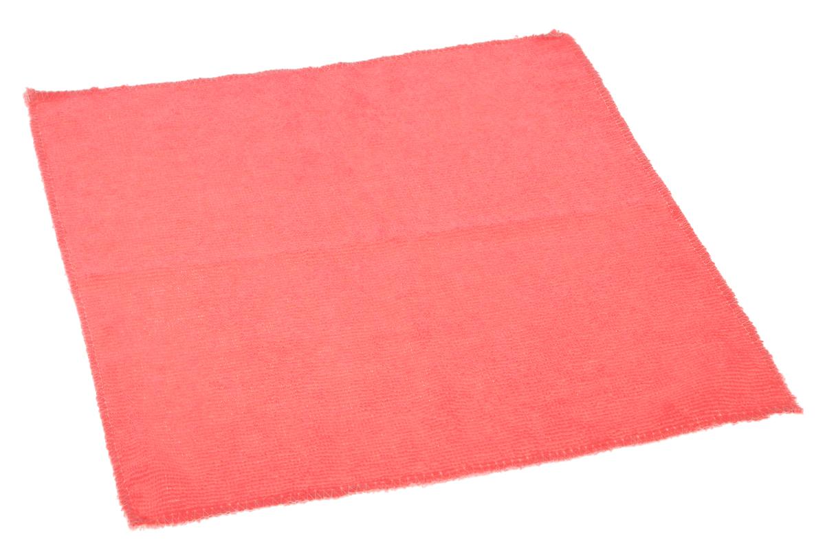 Салфетка для влажной уборки Eva, цвет: коралловый, 30 х 30 смЕ4801_коралловыйСупервпитывающая салфетка Eva, изготовленная из микрофибры, прекрасно подойдет для влажной уборки. Изделие обладает высокой износоустойчивостью и рассчитано на многократное использование, легко моется в теплой воде с мягкими чистящими средствами. Супервпитывающая салфетка не оставляет разводов и ворсинок, удаляет большинство жирных и маслянистых загрязнений без использования химических средств.