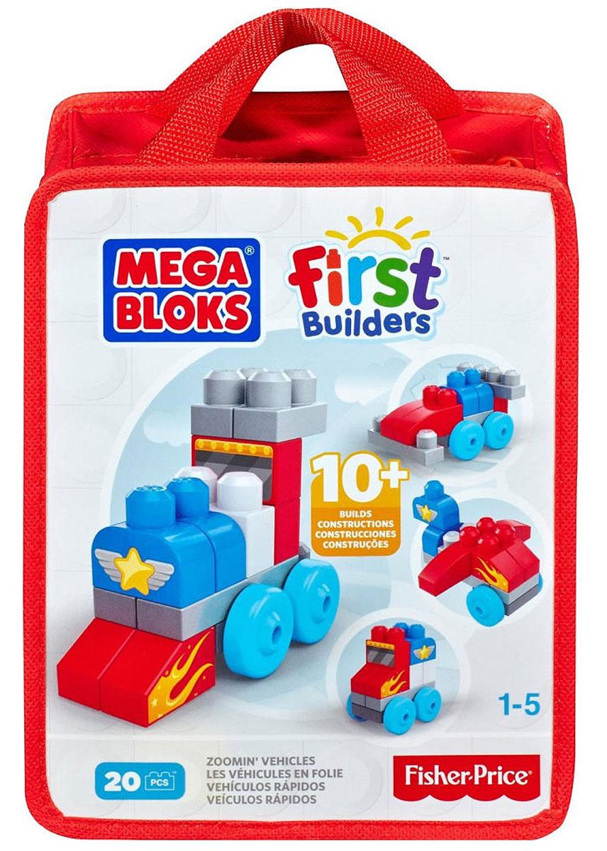 Mega Bloks First Builders Конструктор ТранспортCNH08_CNH09С набором обучающих конструкторов First Builders маленькие строители будут увлечены длительное время. Элементы конструктора сделаны специально для маленьких ручек. Ваш маленький строитель может по своему вкусу собирать различные виды транспорта, используя элементы различной формы и цвета. После игры элементы конструктора можно сложить в удобную сумку на молнии. Конструктор идеально подходит для детей от 1 до 5 лет. Порадуйте своего малыша таким прекрасным подарком!