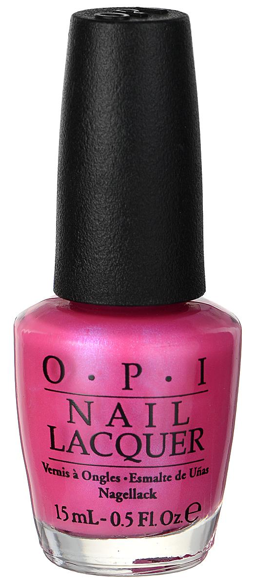 OPI Лак для ногтей, тон Hotter Than You Pink, 15 млNLN36Превосходная формула лака OPI Hotter Than You Pink, которая содержит натуральный шелк и аминокислоты, подарит ногтям насыщенный, долговечный, блестящий неоновый цвет, а также устойчивое к сколам покрытие. Лак имеет эргономичную форму флакона, благодаря которой перламутр и блестки распределяются равномерно. Эксклюзивная кисть ProWide из натурального волоса обеспечивает легкое, ровное и гладкое нанесение. Лак для ногтей однородно ложится и равномерно распределяется по всей поверхности ногтевой пластины. Точно рассчитанная длина и диаметр колпачка, который не скользит в руках, делает его удобным для любого размера и формы пальцев. Уплотненное дно придает флакону устойчивость. Товар сертифицирован.
