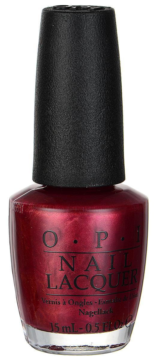 OPI Лак для ногтей, тон An Affair in Red Square, 15 млNLR53Лак для ногтей OPI из классической коллекции подарит ногтям насыщенный, долговечный, блестящий цвет, а также устойчивое к сколам покрытие. Эксклюзивная кисточка ProWide обеспечивает легкое, ровное и гладкое нанесение. Лак для ногтей однородно ложится и равномерно распределяется по всей поверхности ногтевой пластины. Точно рассчитанная длина и диаметр колпачка, который не скользит в руках, делает его удобным для любого размера и формы пальцев. Уплотненное дно придает флакону устойчивость. Товар сертифицирован.