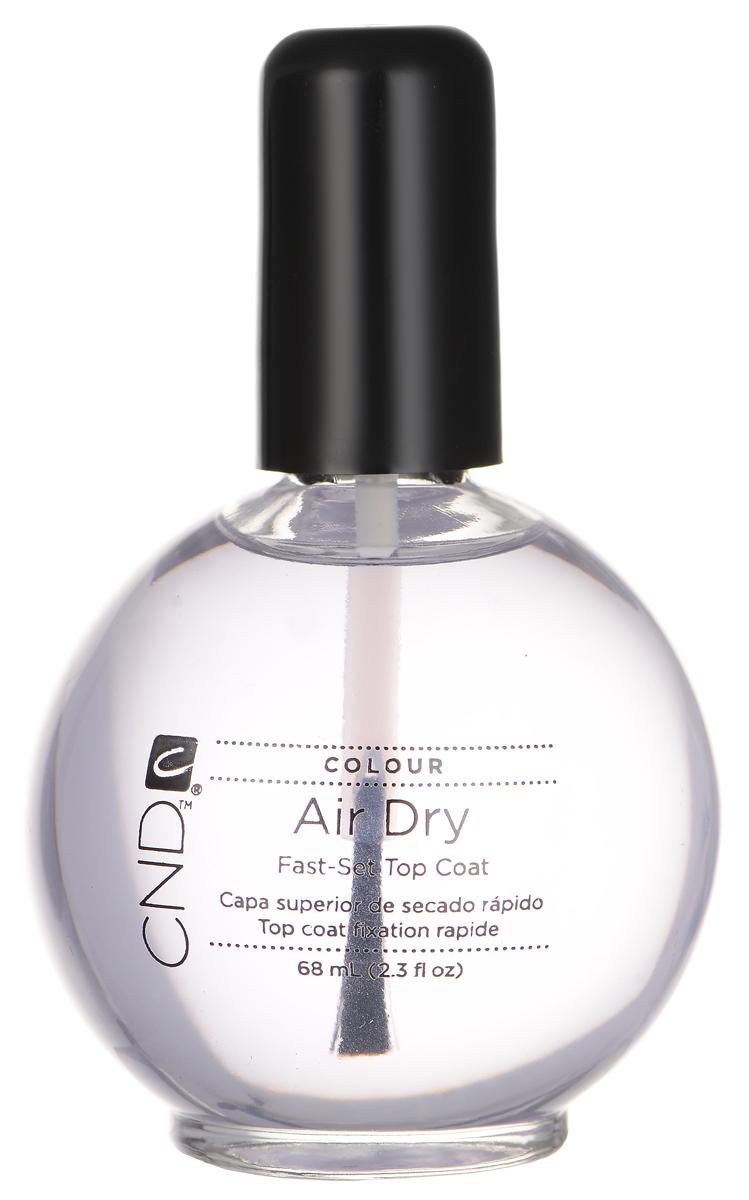 """CND Верхнее покрытие для ногтей """"Air Dry"""", с эффектом быстрой сушки лака, 68 мл 20456"""