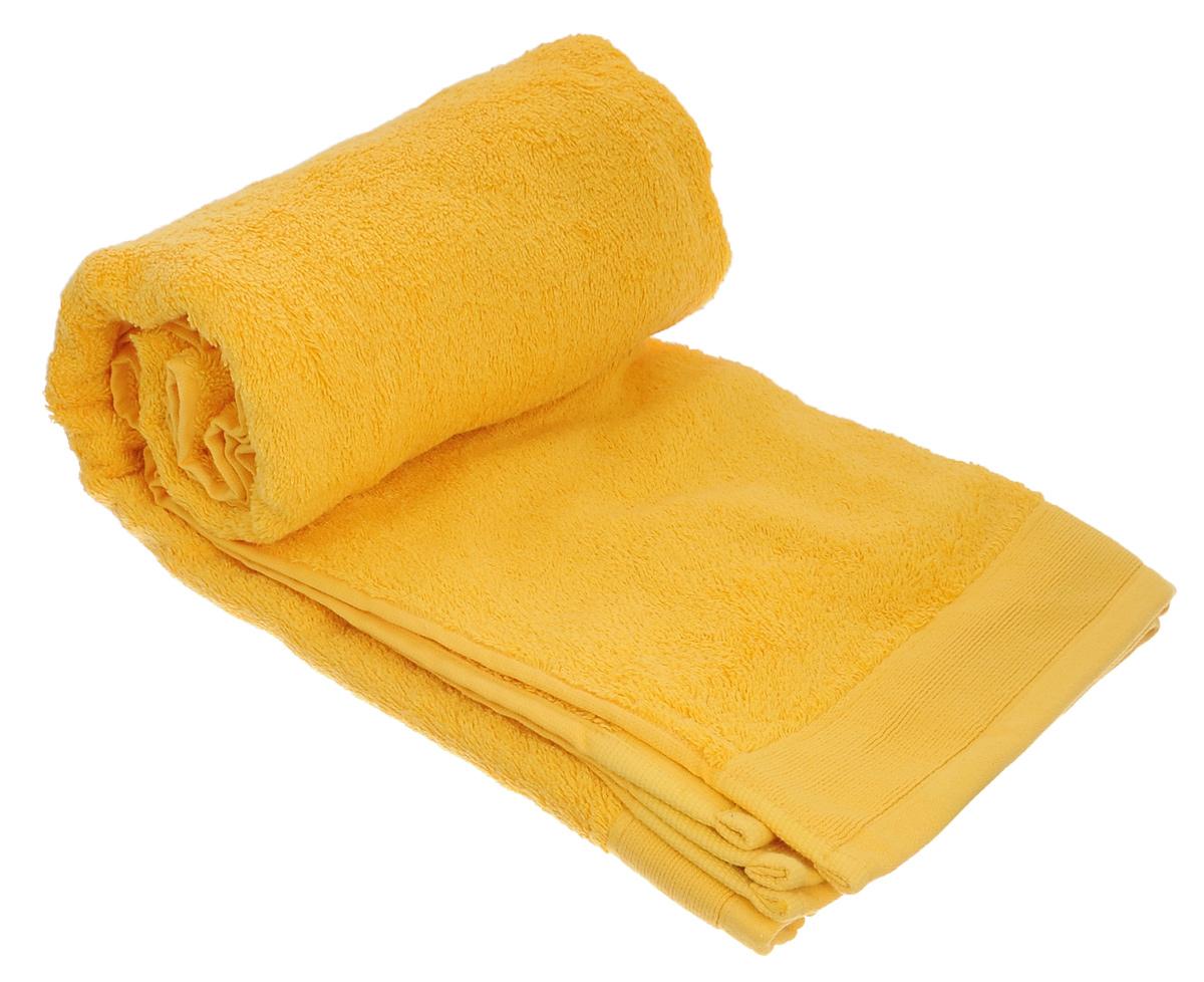 Полотенце махровое Guten Morgen, цвет: желтый, 100 см х 150 смПМж-100-150Махровое полотенце Guten Morgen, изготовленное из натурального хлопка, прекрасно впитывает влагу и быстро сохнет. Высокая плотность ткани делает полотенце мягкими, прочными и пушистыми. При соблюдении рекомендаций по уходу изделие сохраняет яркость цвета и не теряет форму даже после многократных стирок. Махровое полотенце Guten Morgen станет достойным выбором для вас и приятным подарком для ваших близких. Мягкость и высокое качество материала, из которого изготовлено полотенце, не оставит вас равнодушными.