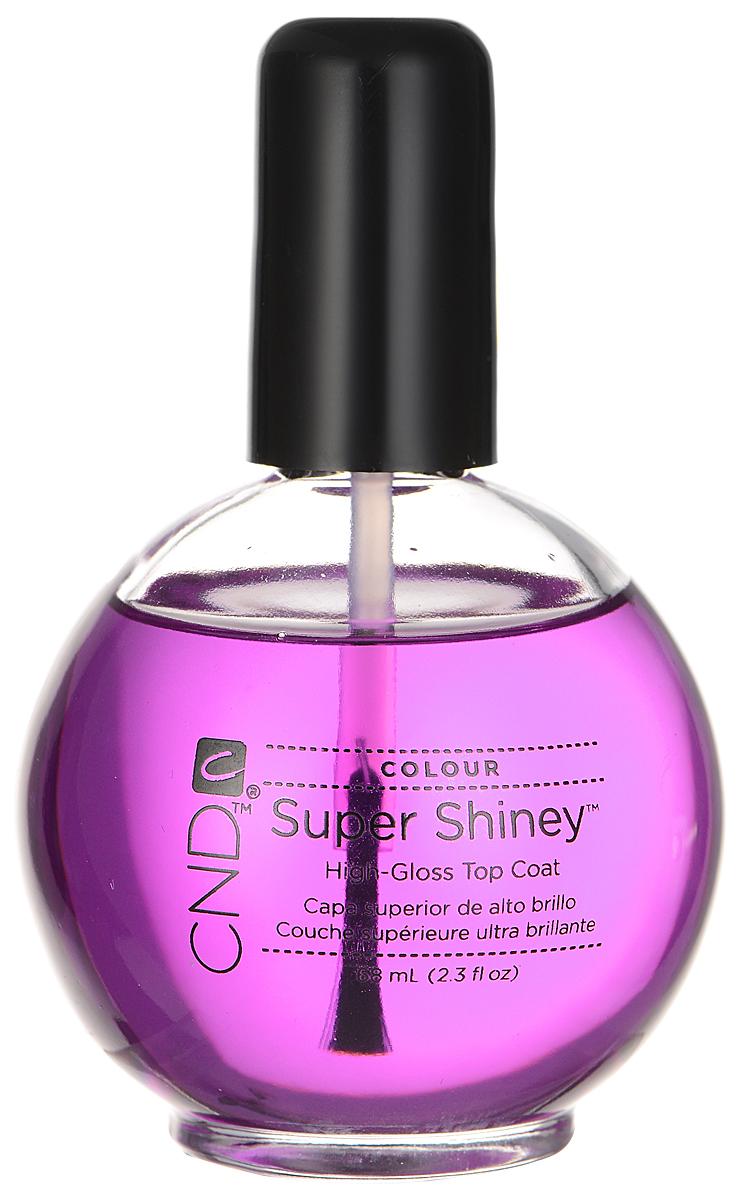 CND Верхнее покрытие для ногтей, Super Shiney, 68 мл