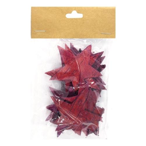 Декоративный элемент Dongjiang Art Звезда, цвет: фуксия, 12 шт7709007_розовыйДекоративный элемент Dongjiang Art Звезда, изготовленный из натуральной коры дерева, предназначен для украшения цветочных композиций. Изделие выполнено в виде звезды, которое можно также использовать в технике скрапбукинг и многом другом. Флористика - вид декоративно-прикладного искусства, который использует живые, засушенные или консервированные природные материалы для создания флористических работ. Это целый мир, в котором есть место и строгому математическому расчету, и вдохновению. Размер одного элемента: 6,5 см х 5,5 см.