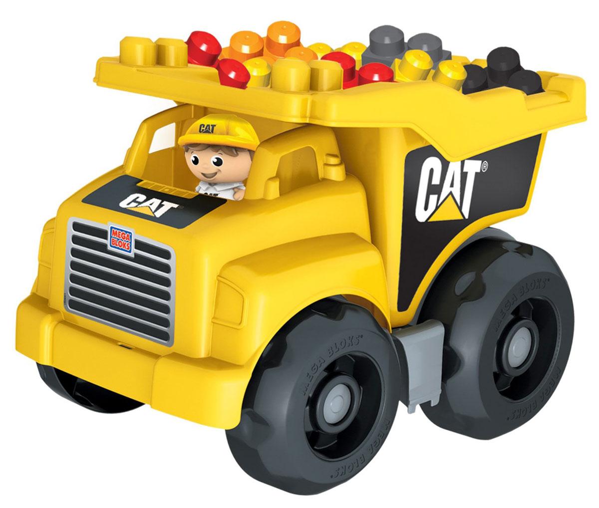 Mega Bloks First Builders Конструктор Большой самосвалDCJ86Посадите своего маленького водителя за руль большого самосвала Caterpillar от Mega Bloks! В нем ваш ребенок сможет перевозить любые предметы! Самосвал оснащен просторным опрокидывающимся кузовом, из которого можно легко высыпать груз! Идеальная игрушка для детей от 1 до 5 лет! Самосвал имеет просторный опрокидывающийся кузов, что позволяет легко разгружать перевозимые блоки! В комплект входит фигурка рабочего и 25 блоков.