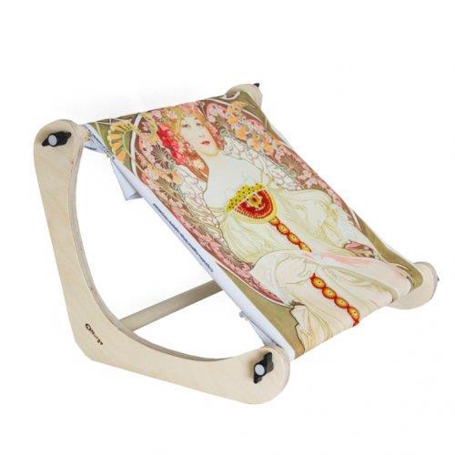 Настольный коленный станок для вышивки Nurge Hobby, высота 30 см7707097В настольный коленный станок для вышивки Nurge Hobby входят 2 ножки-дюбели. Станок обеспечивает удобную вышивку с использованием обеих рук. Выполнен из прочного дерева. Перекладины для станка приобретаются отдельно.