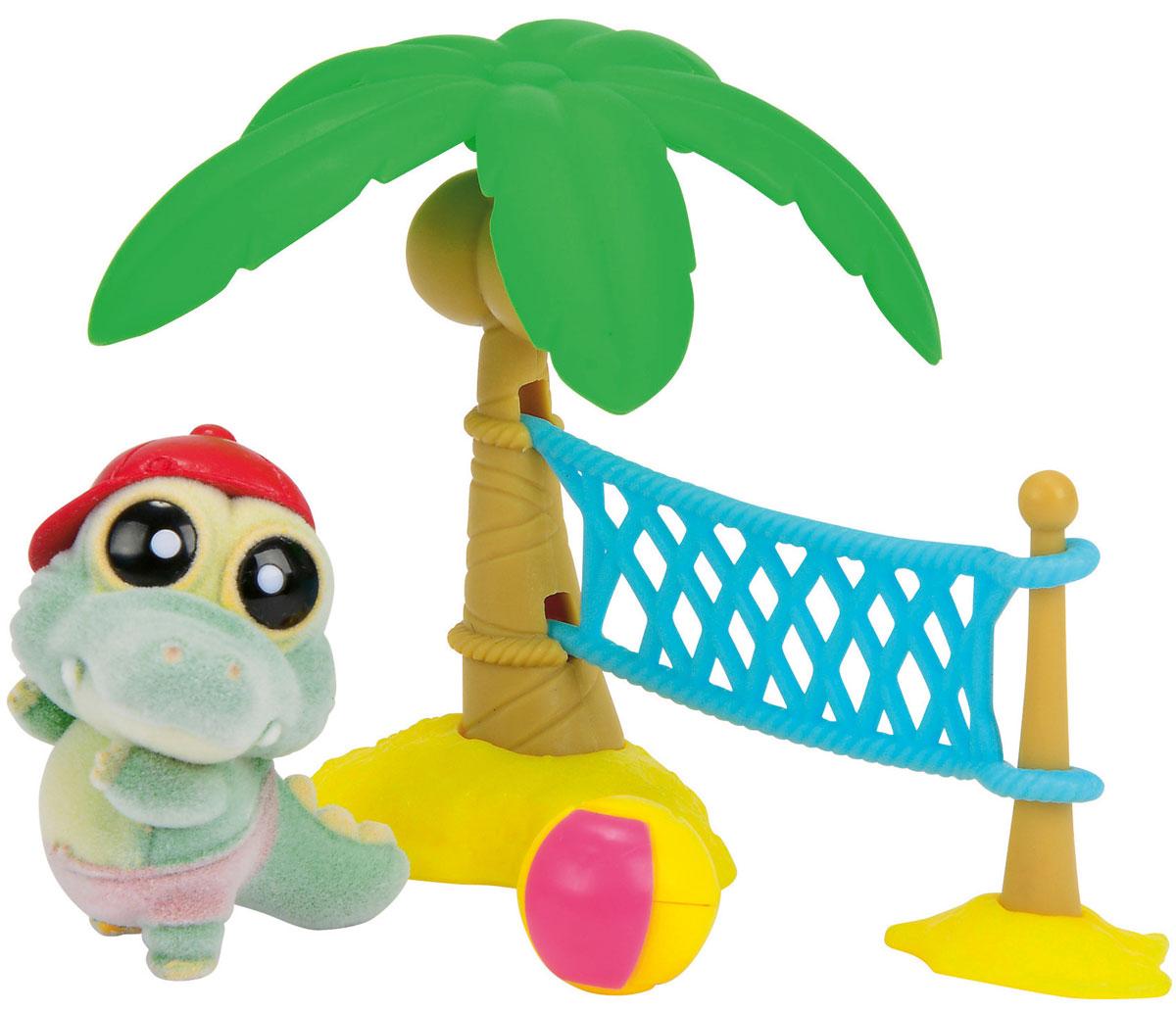 YooHoo & Friends Игровой набор Волейбол на пляже5950634_крокодилИгровой набор YooHoo & Friends Волейбол на пляже позволит отлично провести время на пляже с друзьями Юху. Элементы набора изготовлены из безопасных для ребенка материалов. Фигурка выполнена из приятного на ощупь материала. Набор включает в себя мини-фигурку крокодила и игрушечные аксессуары для летнего отдыха в виде волейбола. Ваш ребенок часами будет играть с такой игрушкой, придумывая различные истории.