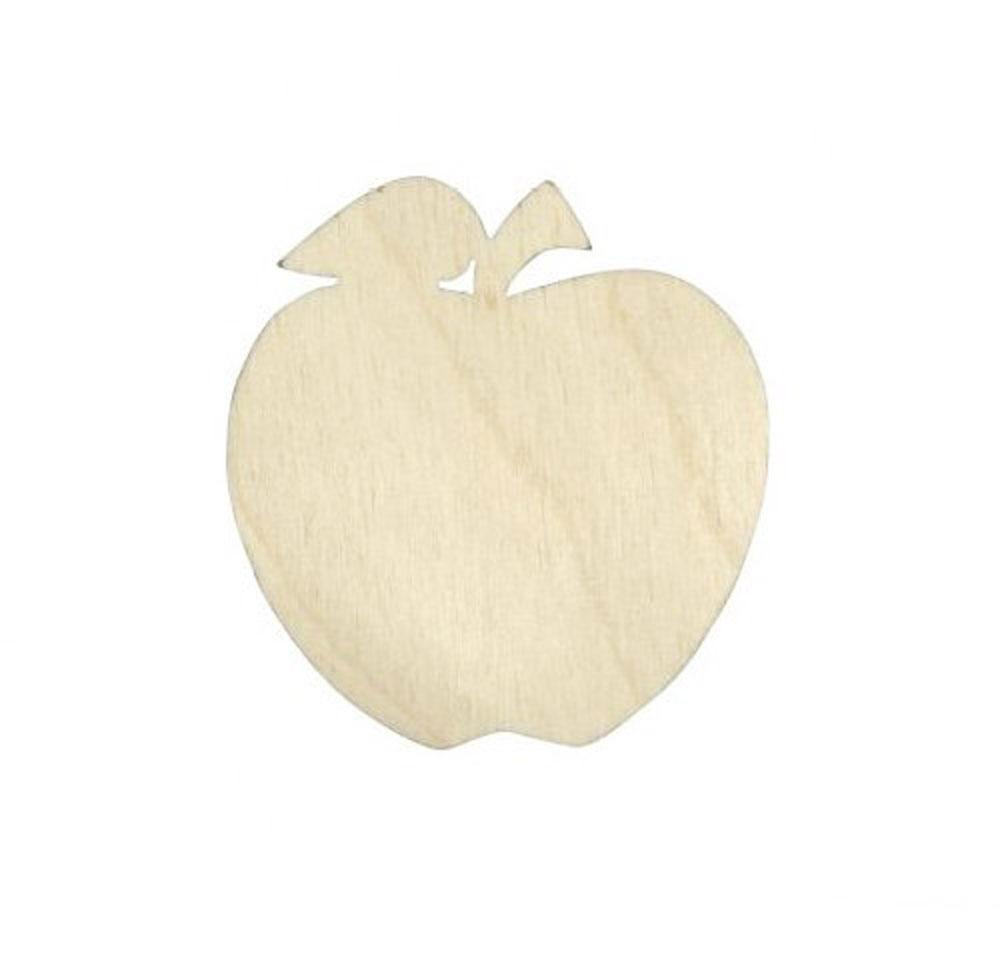 Деревянная заготовка Астра Яблоко, 5 х 4,7 см684118Заготовка Астра Яблоко изготовлена из дерева. Изделие, выполненное в виде яблока, станет хорошим объектом для вашего творчества и занятий декупажем. Заготовка, раскрашенная красками, будет прекрасным украшением интерьера или отличным подарком.