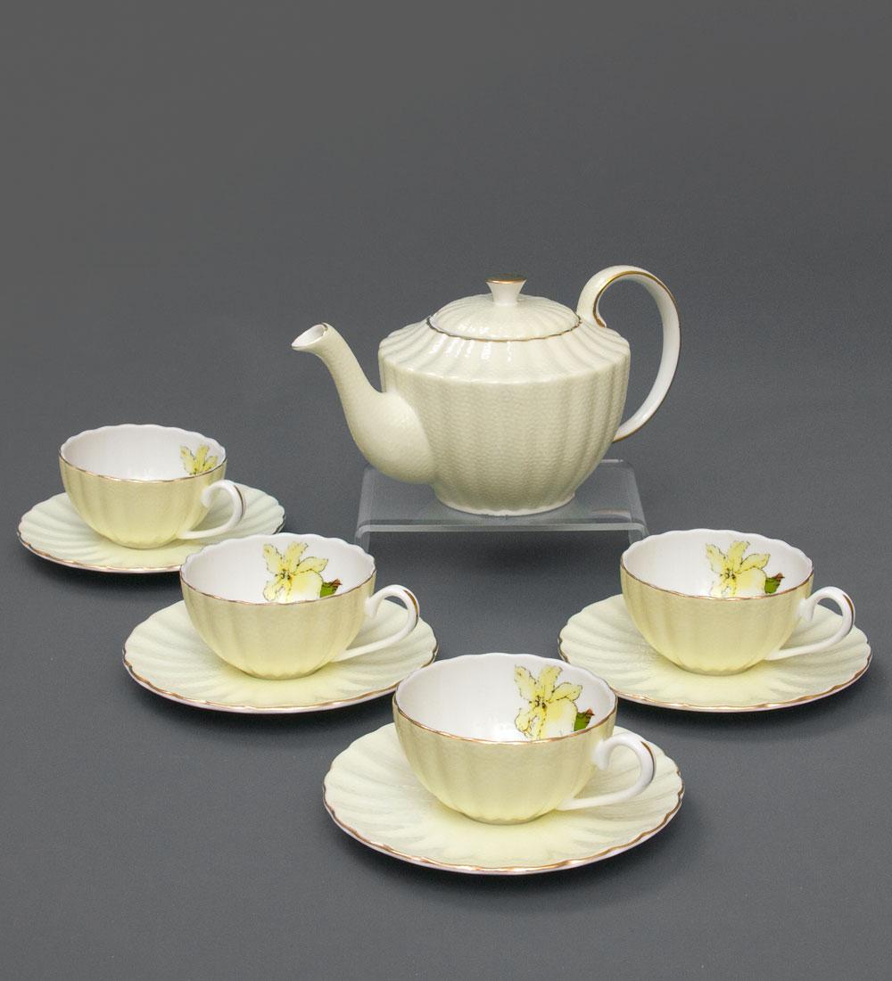 Чайный сервиз Мария Тереза желт451363