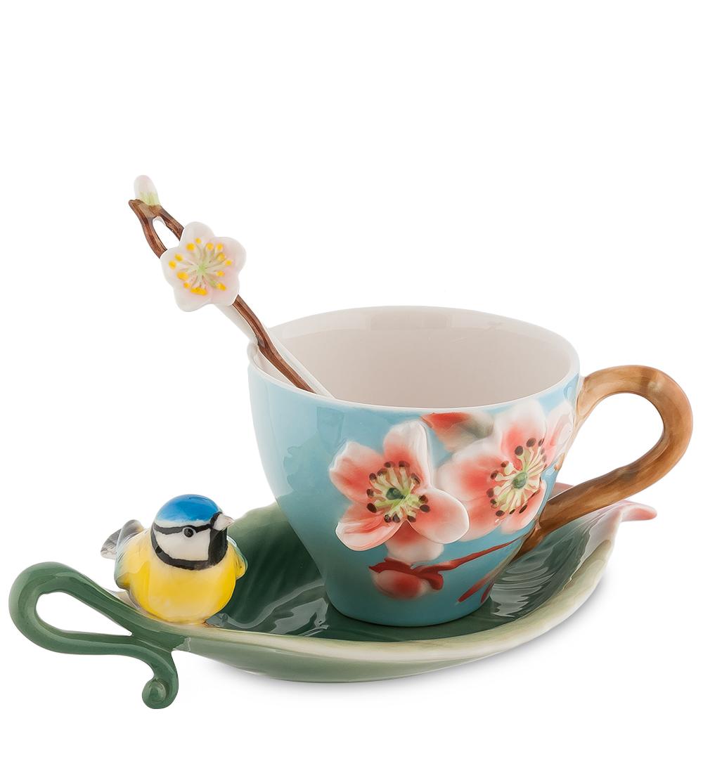Чайная пара Сливовый цветок (Pavone)10963