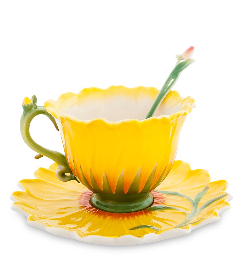 Чайная пара Подсолнух (Pavone)104844