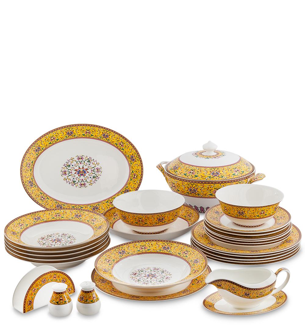 Столовый сервиз на 6 перс. Арабески (Arabesca Yellow Pavone)451558
