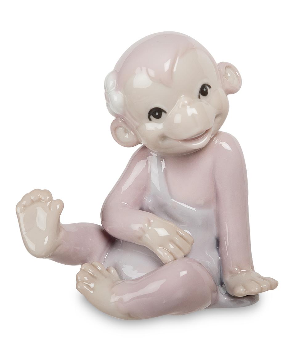 Фигурка декоративная Pavone Сиреневая обезьянка