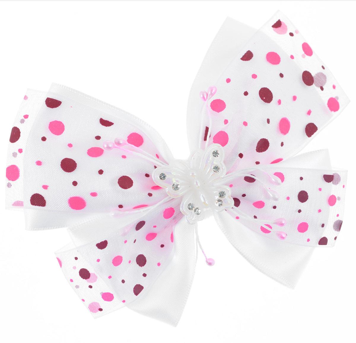 Резинка для волос Baby's Joy, цвет: белый. MN 122