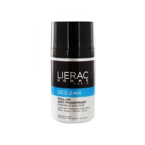 Lierac ДЕЗОДОРАНТ Lierac Homme 24 часа защиты, для мужчин 50млL1270Уникальное сочетание компонентов позволяет устранить ощущение влажности кожи и неприятные запахи. Кожа остаётся сухой и чистой. Обеспечивает 24 часа защиты от запаха пота. Шариковый антиперспирант, обеспечивает свежесть и комфорт в течение всего дня. Не содержит спирт. Не оставляет следов и пятен
