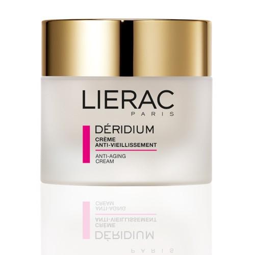 Lierac Крем Deridium от морщин для нормальной и смешанной кожи 50млL2916Крем на основе активного антивозрастного комплекса (манжетка-плющ-хвощ), стимулирующего синтез коллагена и эластина, и удерживающих влагу компонентов. Помогает эффективно бороться с признаками старения кожи (морщинки и первые морщины) и обеспечивает оптимальное увлажнение. День за днем этот питательный крем улучшает рельеф кожи, сокращает число и размер морщин и возвращает коже комфорт, тонус и мягкость.