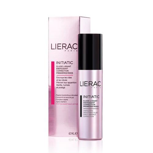 Lierac флюид Initiatic против первых морщин 40 млL604Разглаживает и заметно повышает тонус кожи, стирает первые признаки старения и замедляет процесс формирования первых морщин, увлажняет и улучшает цвет лица. Является прекрасной основой под макияж.