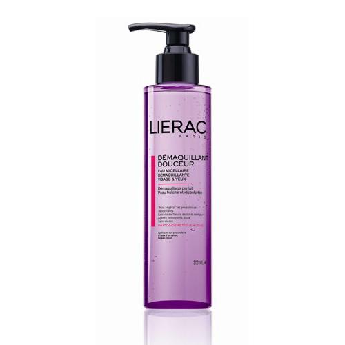 Lierac ВОДА ОЧИЩАЮЩАЯ для лица и контура глаз 200 млL617Мягко очищает кожу, в том числе хрупкую кожу зоны контура глаз. Придаёт ощущение свежести и комфорта.Содержит натуральный защитный комплекс ECOSKIN (цветочный мёд, пробиотики-детоксикаторы), экстракты цветков льна (защищает сосуды и выводит токсины) и мальвы (смягчает и разглаживает кожу), витамин В5 (способствует росту ресниц)