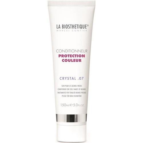 La BiosthetiqueHair Кондиционер Protection Couleur для окрашенных волос, 150 млLB120123Бальзам подходит для тонких и окрашенных волос, бережно защищает волосы, придает им объем, сияние, сохраняет яркий цвет на долгое время, предупреждает обесцвечивание, улучшает структуру волос, оздоравливает, укрепляет, восстанавливает и нормализует обменные процессы.