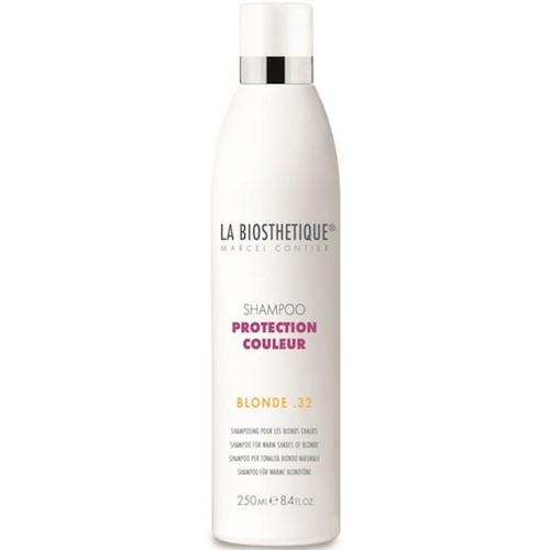La BiosthetiqueHair Шампунь Protection Couleur для окрашенных волос, 200 млLB120500Шампунь подходит для тонких и окрашенных волос, бережно защищает волосы, придает им объем, сияние, сохраняет яркий цвет на долгое время, предупреждает обесцвечивание, улучшает структуру волос, оздоравливает, укрепляет, восстанавливает и нормализует обменные процессы.