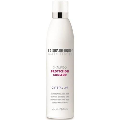 La BiosthetiqueHair Шампунь Protection Couleur для окрашенных волос, 200 млLB120649Шампунь подходит для тонких и окрашенных волос, бережно защищает волосы, придает им объем, сияние, сохраняет яркий цвет на долгое время, предупреждает обесцвечивание, улучшает структуру волос, оздоравливает, укрепляет, восстанавливает и нормализует обменные процессы.