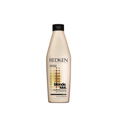 Redken шампунь Blonde Idol 300 млP0899700Специально для волос блонд. Шампунь Блонд Айдол бережно очищает волосы, нормализует баланс pH и увлажняет их. Идеально подходит для светлых волос. При использовании всей гаммы Blonde Idol (шампунь, ВВВ-спрей,или маска) Эксклюзивная система REDKEN Kera-Bright System насыщенная кератиновыми связями, экстрактом листов фиалки и молочной кислотой, воздействует на волосы изнутри, укрепляя их, увлажняя активизируя процессы обновления клеток, усиливая синтез коллагена, увеличивая липидный запас и насыщая волосы блеском.