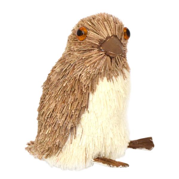 Украшение елочное подвесное Winter Wings ПингвинN181227Новогоднее украшение Winter Wings Пингвин отлично подойдет для декорации вашего дома и новогодней ели. Украшение выполнено из соломы с блестящей крошкой в виде пингвина. С помощью специальной петельки украшение можно повесить в любом понравившемся вам месте. Елочная игрушка - символ Нового года. Она несет в себе волшебство и красоту праздника. Создайте в своем доме атмосферу веселья и радости, украшая всей семьей новогоднюю елку нарядными игрушками, которые будут из года в год накапливать теплоту воспоминаний. Высота украшения: 6,5 см.