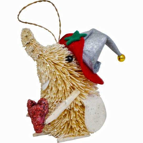Украшение елочное подвесное Winter Wings Слон с цветкомN181424Новогоднее украшение Winter Wings Слон с цветком отлично подойдет для декорации вашего дома и новогодней ели. Украшение выполнено из соломы с блестящей крошкой в виде слоника с цветком и в шляпе. С помощью специальной петельки украшение можно повесить в любом понравившемся вам месте. Елочная игрушка - символ Нового года. Она несет в себе волшебство и красоту праздника. Создайте в своем доме атмосферу веселья и радости, украшая всей семьей новогоднюю елку нарядными игрушками, которые будут из года в год накапливать теплоту воспоминаний. Высота украшения: 10 см.