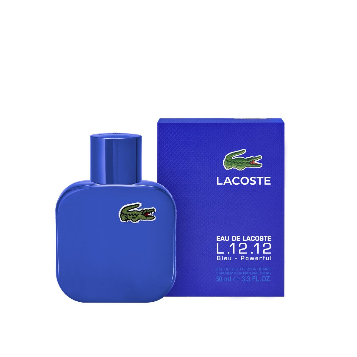 Lacoste Туалетная вода Eau De Lacoste L.12.12 Bleu, мужская, 50 мл0737052896458Lacoste Eau De Lacoste L.12.12 Blue это аромат человека, привыкшего всегда добиваться поставленных целей и доказывать свое полное превосходство. Lacoste Eau De Lacoste L. 12. 12 Blue идеально подчеркивает мужественность хозяина. Аромат прекрасно подойдет спокойным и уравновешенным натурам, осознающим свое значение и положение в обществе, в нем чувствуется определенная мерка качества присущая также и коллекциям, которые производит одноименная компания. Данное произведение парфюмерного искусства можно сравнить с бескрайним океаном, столь глубокое впечатление производит насыщенный и стойкий аромат. Издавна голубой цвет цвет королевской крови, традиционно считается воплощением королевской мужественности и силы, рисует образ победителя человека способного добиваться любых поставленных целей и способного доказывать свое превосходство при любых условиях. Хозяину аромата Lacoste Eau De Lacoste L. 12. 12 Blue неважно, где он находится и какая перед ним поставлена задача, она...